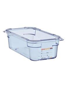 Araven ABS blauwe voedseldoos BPA-vrij | GN 1/3 - 10cm diep