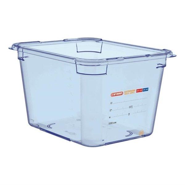 Araven Araven Araven ABS blauwe voedseldoos BPA-vrij | GN 1/2 - 20cm diep