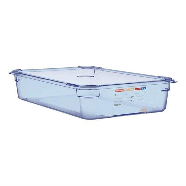 Araven Araven ABS blauwe voedseldoos BPA-vrij | GN 1/1 - 10cm diep