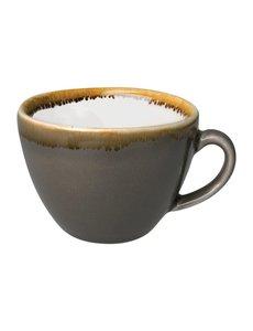 Olympia Kiln cappuccino kopjes grijs 23cl | 6 stuks