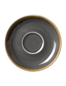 Olympia Kiln cappuccino schotels grijs Ø 16cm | 6 stuks