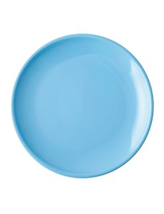 Olympia Café coupebord blauw Ø 20cm   12 stuks