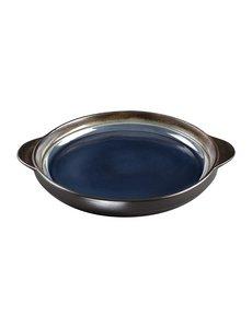 Olympia Nomi ronde tapasschalen blauw-zwart | Ø 19cm |  6 stuks