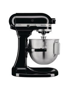 KitchenAid K5 Heavy Duty mixer zwart | Kom 4.8 Liter | 10 Snelheden
