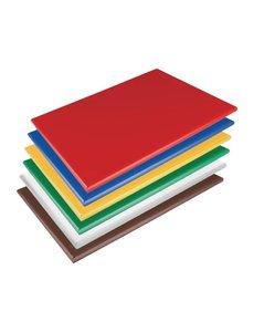 Hygiplas LDPE snijplanken set   600x450x20mm   6 kleuren