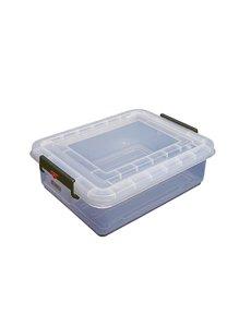 Araven Voedselcontainer met deksel 40 liter | 23(h)x53(b)x40(d)cm