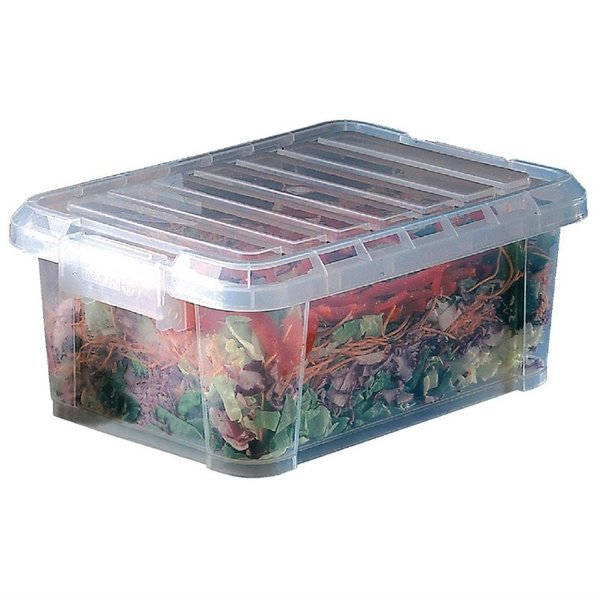 Araven Araven Voedseldoos met deksel 9 Liter   15,5(h)x38(b)x26,5(d)cm.