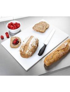Hygiplas LDPE antibacteriële  snijplank wit | 450x300x10mm | Brood en kaas