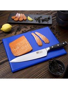 Hygiplas HDPE snijplank blauw | 300x225x12mm | Rauwe vis