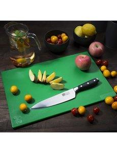 Hygiplas LDPE snijplank groen | 450x300x12mm | Groenten en fruit