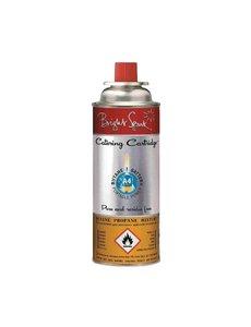 Gasvulling butaan en propaan mix   Tot 2 uur per gasvulling