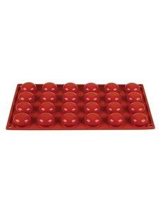 Pavoni Pavoni Formaflex siliconen bakvorm 24 pomponettes