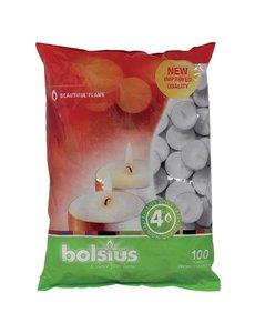 Bolsius Bolsius dinerkaarsen wit