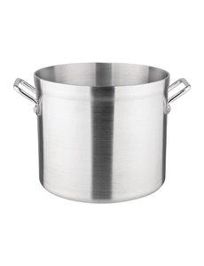 Vogue Kookpan middelhoog aluminium | 15.1 liter | Ø 28.5 cm.