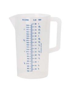 Maatbeker Polypropyleen | 2.2 Liter