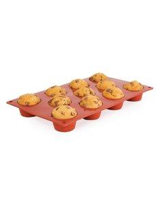 Pavoni Pavoni Formaflex siliconen bakvorm 11 mini-muffins | Holte Ø5x 2.8 cm. diep
