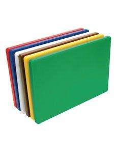Hygiplas LDPE snijplanken set   455x305x20mm   6 kleuren