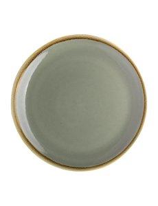 Olympia Kiln coupe borden mosgroen Ø23cm | 6 stuks