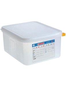 Araven Voedseldoos met deksel 10 liter | GN1/2 - 150mm | 4 stuks