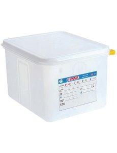 Araven Voedseldoos met deksel 12.5 liter | GN1/2 - 200mm | 4 stuks