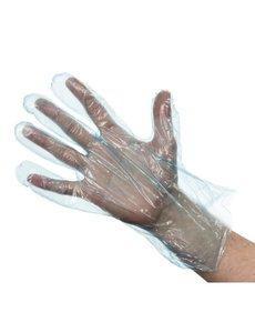 Handschoenen blauw disposable | 100 stuks