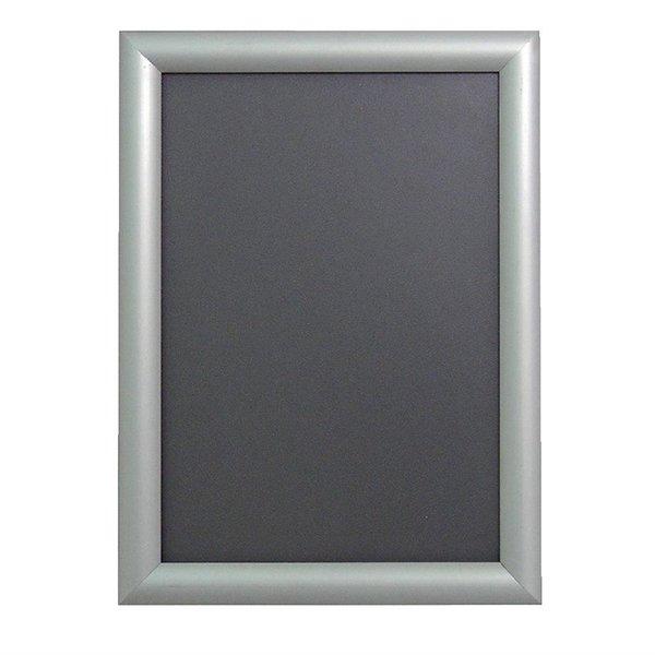 Olympia Kliklijst aluminium A4 | Mat zilver aluminium | 210x297 mm