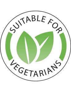 Vogue Voedseletiketten 'Vegetarisch' Ø 25 mm. | 1000 stuks