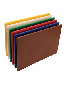 Hygiplas LDPE snijplanken set   450x300x12mm   6 kleuren