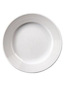 Olympia Linear borden met brede rand Ø15cm   12 stuks