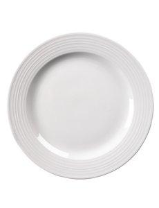 Olympia Linear borden met brede rand Ø31cm   6 stuks