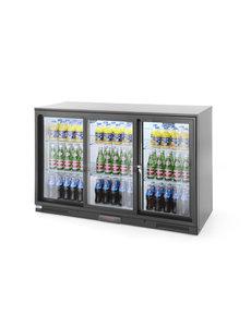 Arktic Backbar koelkast met Schuifdeuren 338L | 230V/300W | 133,5x50x(H)90cm
