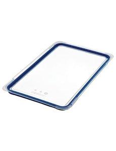 Araven ABS blauwe luchtdichte deksel voor voedseldoos GN 1/1 | 530x325 mm.