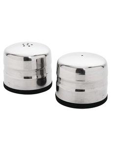 Olympia Peper- en zoutstrooier mini RVS | Ø4xH5 cm.