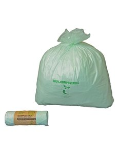 Jantex Sanitairzakjes 10 liter composteerbaar | 24 stuks