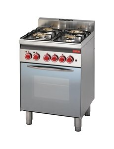Gastro-M Gastro M 600 gasfornuis 60/60CFGE