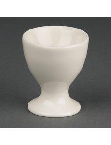 Olympia Ivory eierdop | Hoogte 6 cm. | 12 stuks