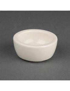 Olympia Ivory boterschaaltje 6,5cm | Ø5.6 cm. | 12 stuks