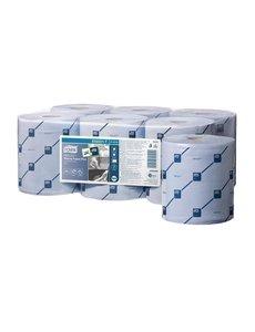 Tork Reflex handdoekrollen blauw 2-laags | Rollengte 157 meter | 6 rollen