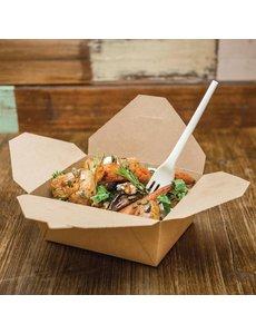 Vegware Composteerbare kartonnen voedseldozen 1,3L | 500 stuks
