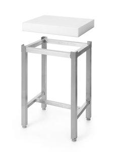 Hendi Polyethyleen hakblok - hakblok - 500x400x(H)50mm