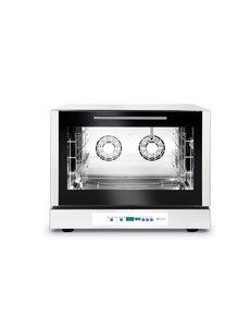 Hendi Digitale Oven met Stoominjectie - 4x 60x40cm trays - 400V / 6400W - 79x75x(H)63,5cm
