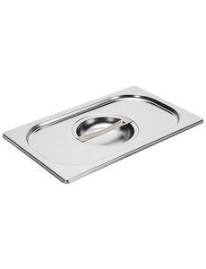 Gastro-M Gastronorm deksel RVS GN 1/4   265x162mm