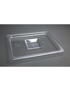 Vogue Polycarbonaat deksel transparant GN 1/2 | 325x265mm