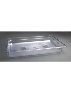 Vogue Polycarbonaat bak transparant GN 1/1 - 65mm | 530x325mm