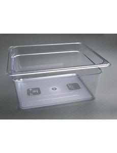 Vogue Polycarbonaat bak transparant GN 1/2 - 150mm | 325x265mm