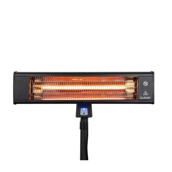 Eurom Terrasverwarmer TH1800S |  Elektrisch 1800W | 200cm Hoog | 10 – 15 m²