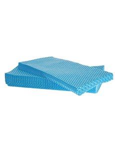 Jantex Afneemdoekjes Solonet blauw | 58x33 cm.  | 50 stuks
