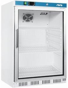 Saro Display koelkast met glazen deur 129 Liter | HK 200 GD |  B600 x D585 x H850 mm