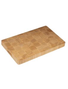Hendi Snijplank met handgrepen | Rubberwood | GN1/1 - 530x325xH45 mm