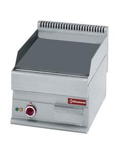 Diamond Elektrische bakplaat met vlakke plaat 400V/4.5kW | 400x650xH280/380 mm.